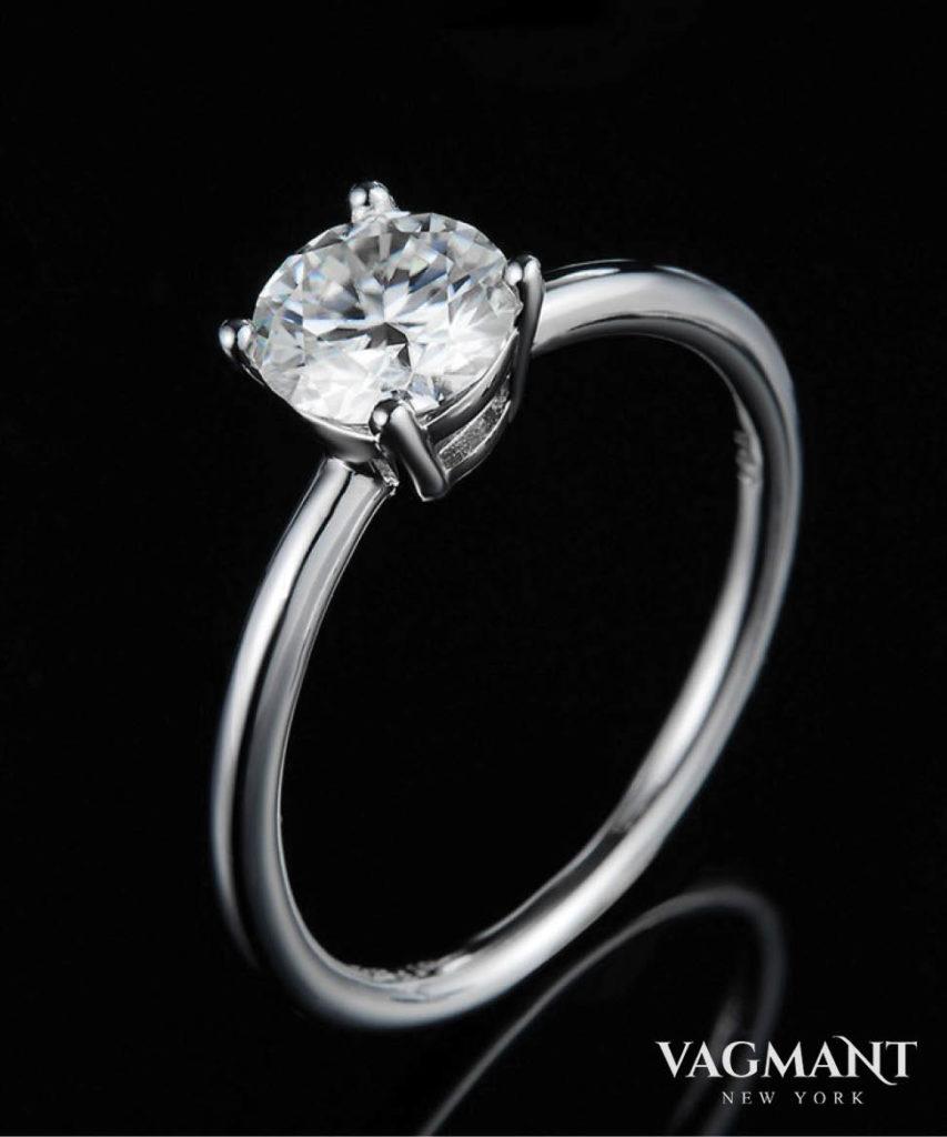 Vagmant® Ebullient Century Moissanite Ring