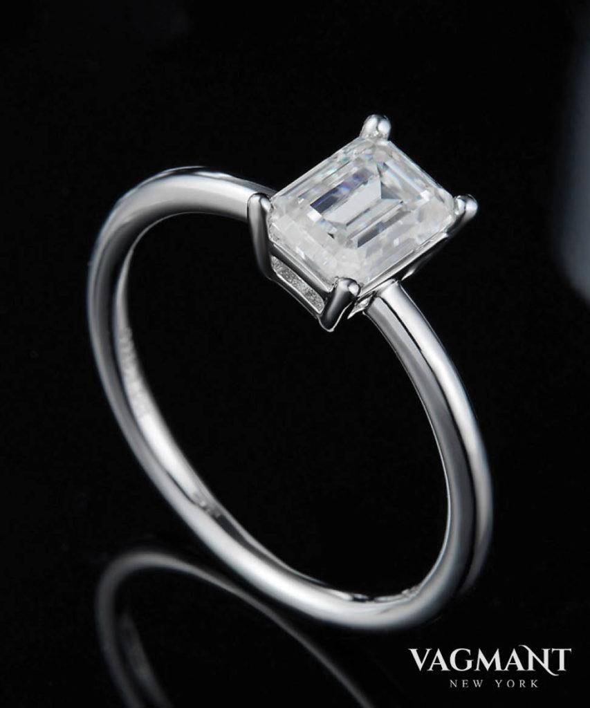 Vagmant®Ebullient Century Moissanite Ring