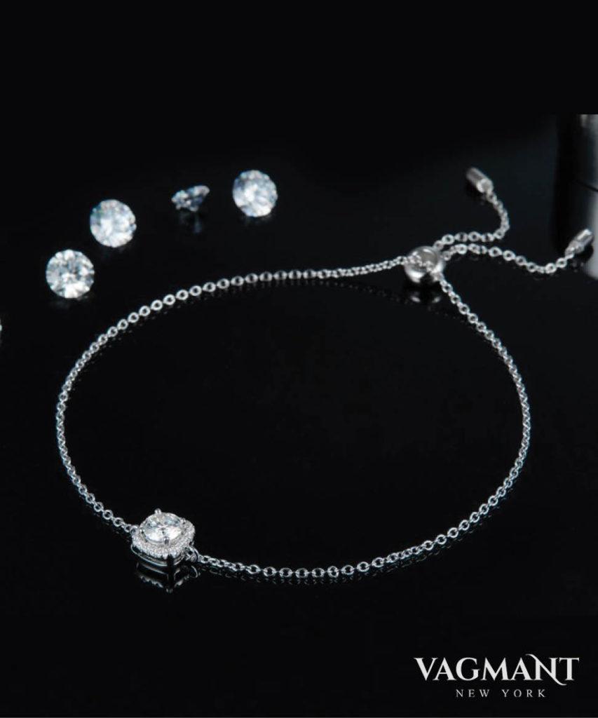 Vagmant® Carré Moissanite Bracelet